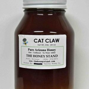 Raw Cat Claw Honey