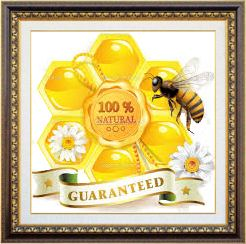 100% Natural Honey Guaranteed